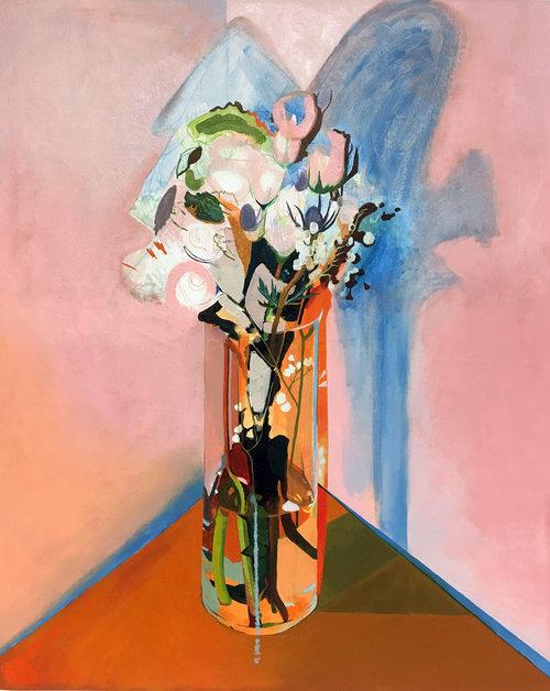 Anne Trincot  Veil, 2017 Oil on canvas 30 x 40 in.