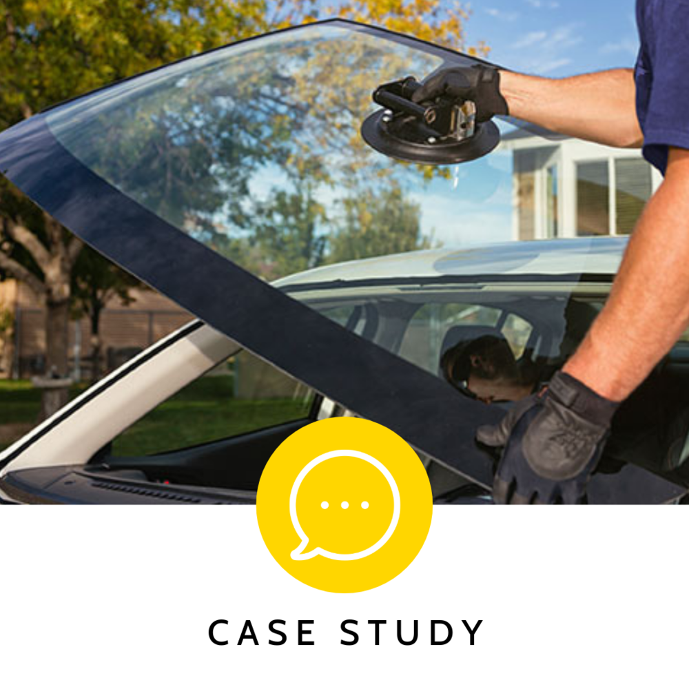 CARGLASS  - SAVING  30% OF EMPLOYEE TIME