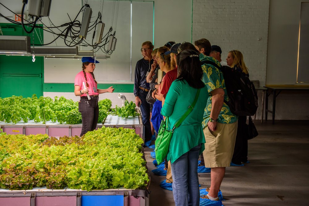 Jill Shea, Trifecta Ecosystem's Regional Farm Manager, discusses our approach to indoor aquaponic farming with professionals from around the world during the 7th annual Aquaponic Association Conference.