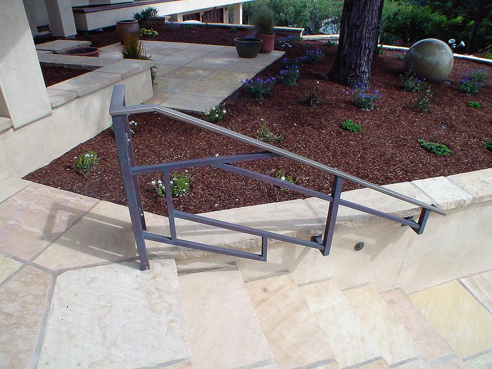 Bronze Railing