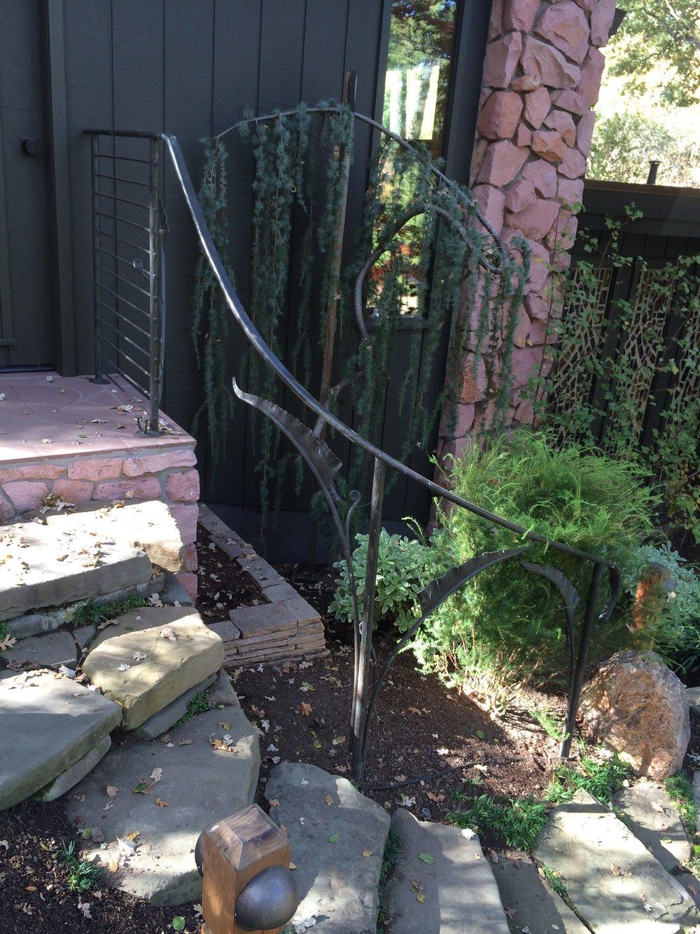 Bronze Fern Handrail
