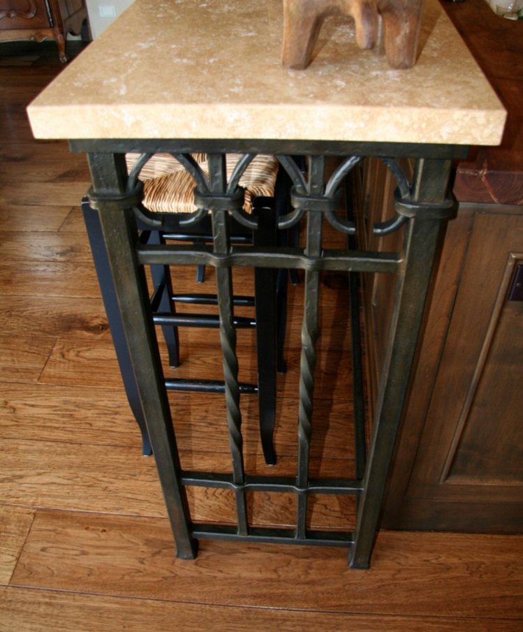 Hand Forged Bar Counter