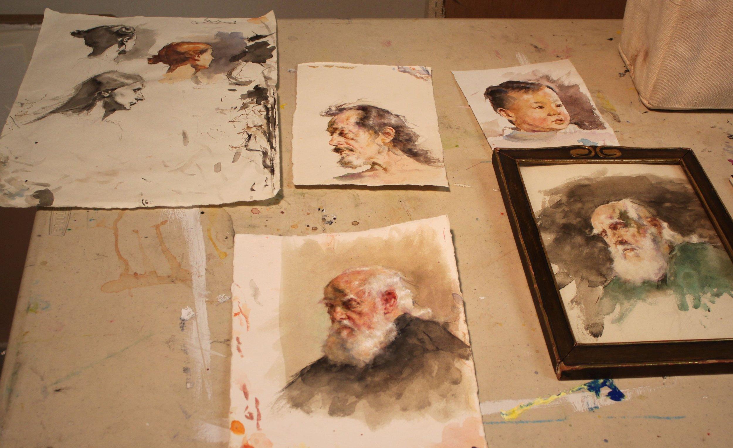 RobLiberace_Watercolors
