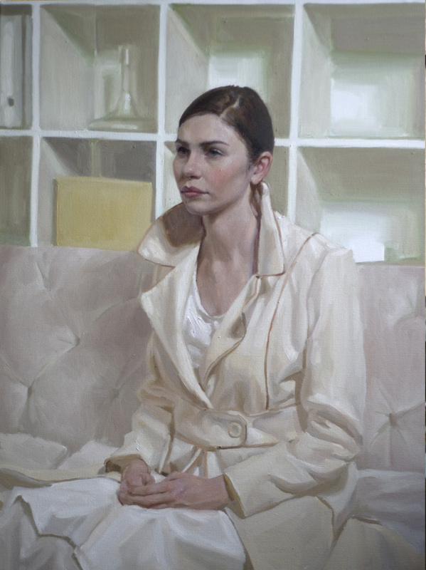 """Portrait by artist Mary Sauer which took """"Best of show"""" in the Portrait Society of America's 2012 International Portrait Competition Winners."""