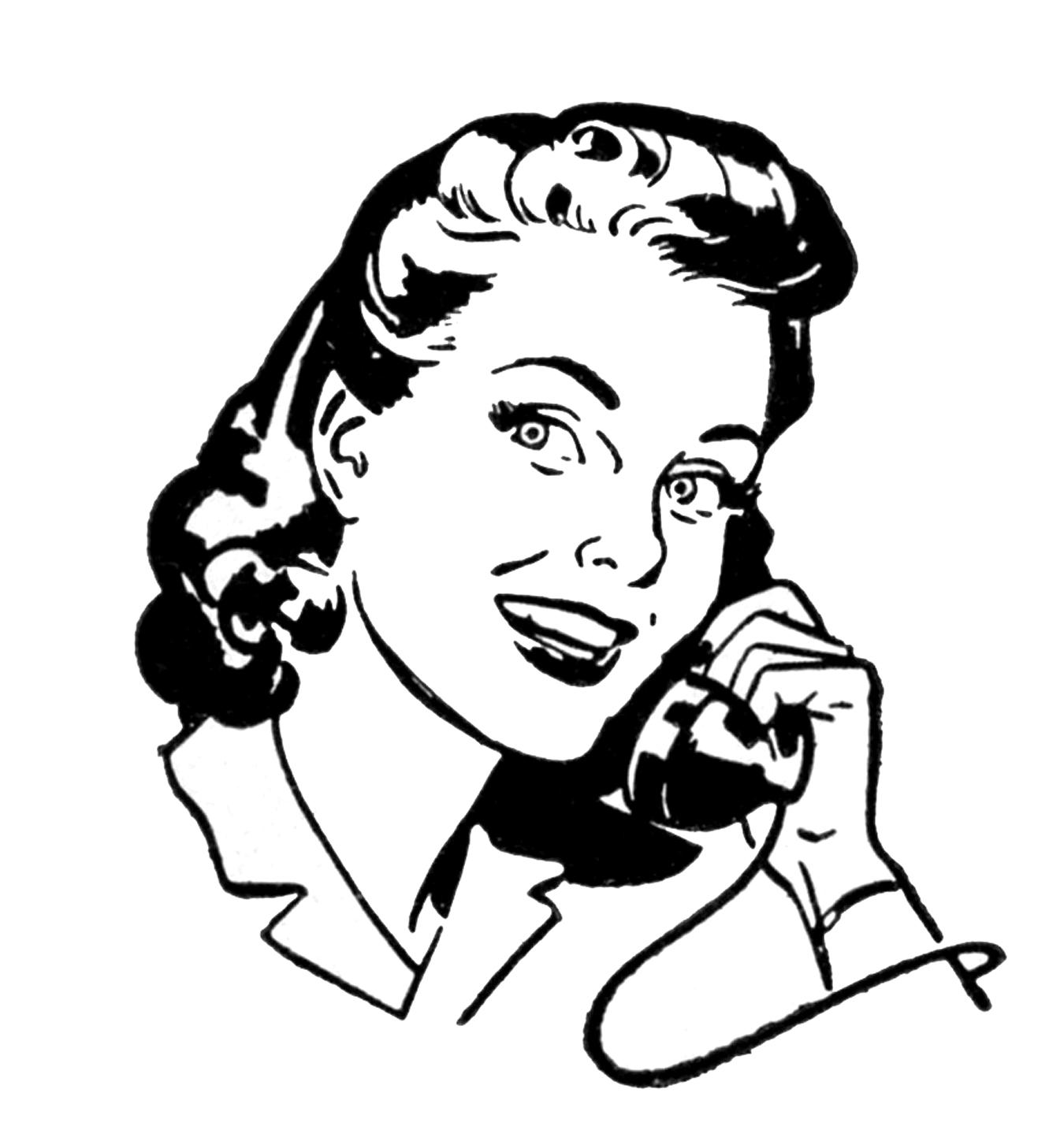 phone-lady-retro-image-graphics-fairy11