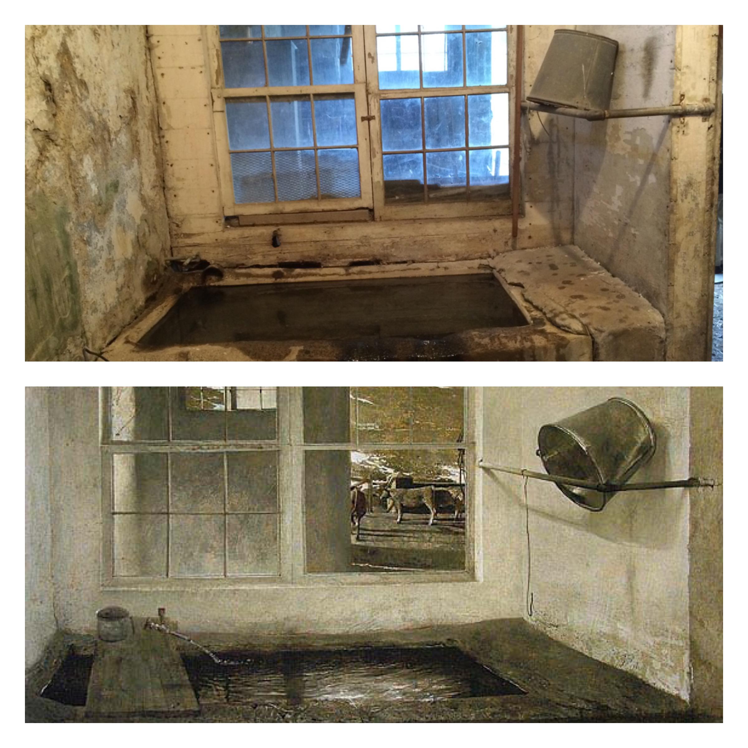 Sink in Kuerner's Barn_Spring Fed