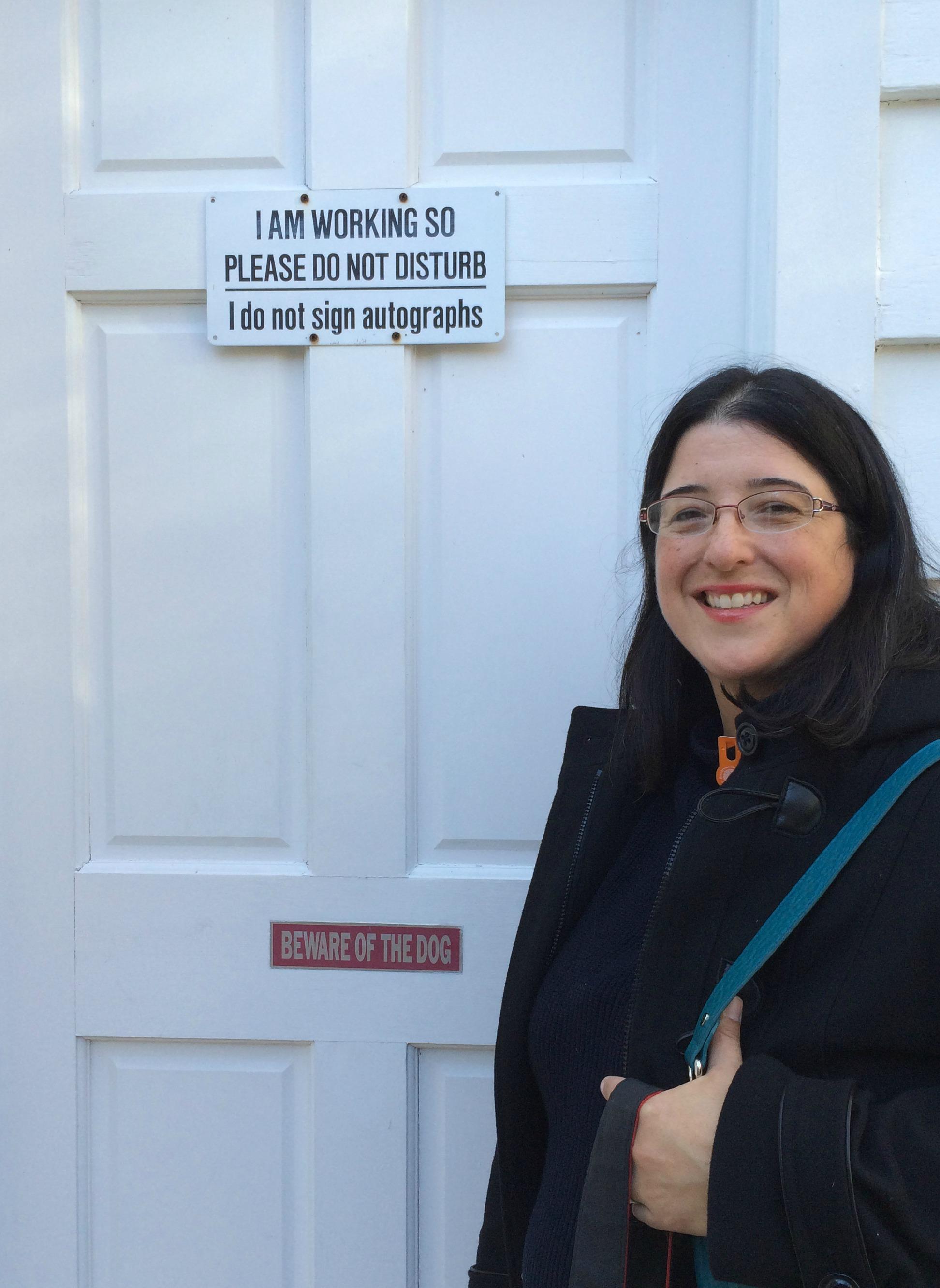 Suzanne Lago Arthur Outside A. Wyeth Studio