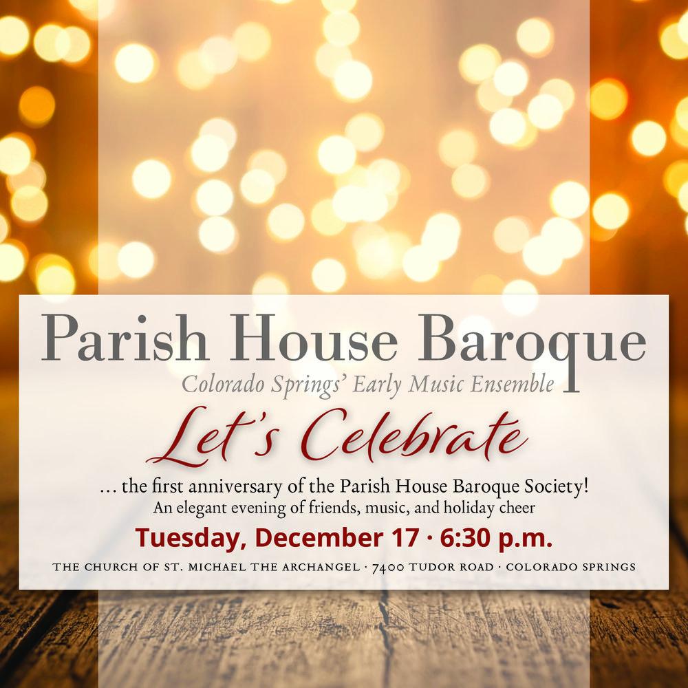 Home For The Holidays 2020.2019 2020 Season Parish House Baroque
