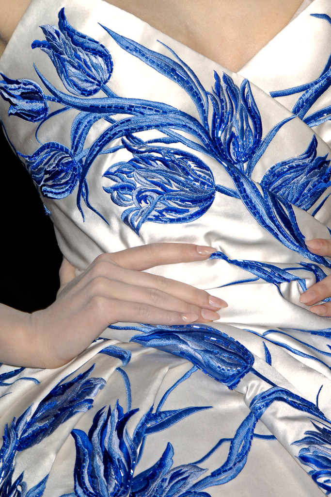 Dior inspired by delftware