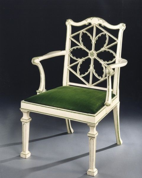 A Gothic Chippendale Chair