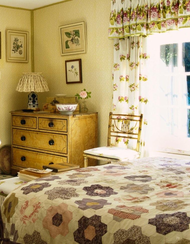 Wendy Nicholls' main bedroom