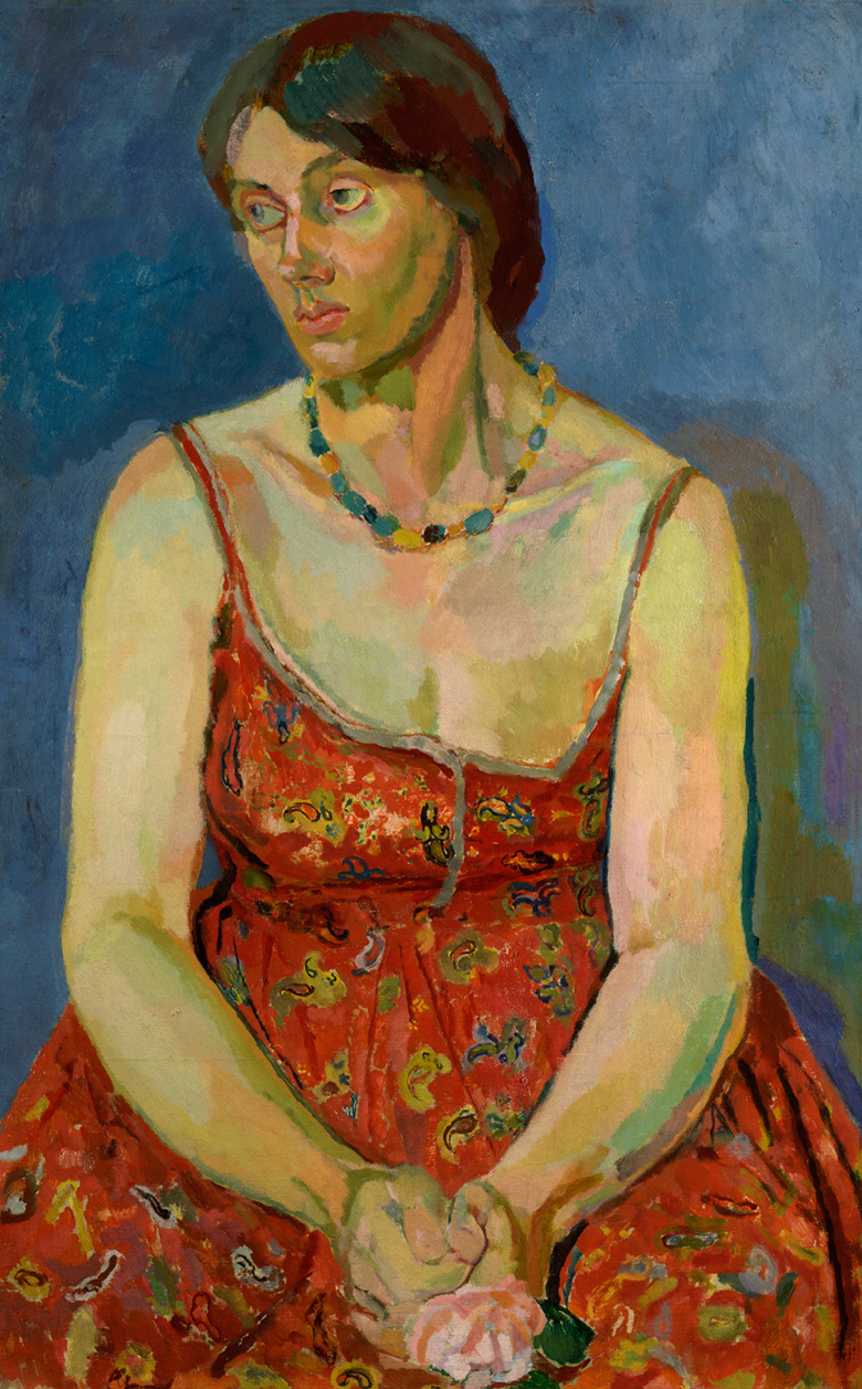 Vanessa Bell by Duncan Grant