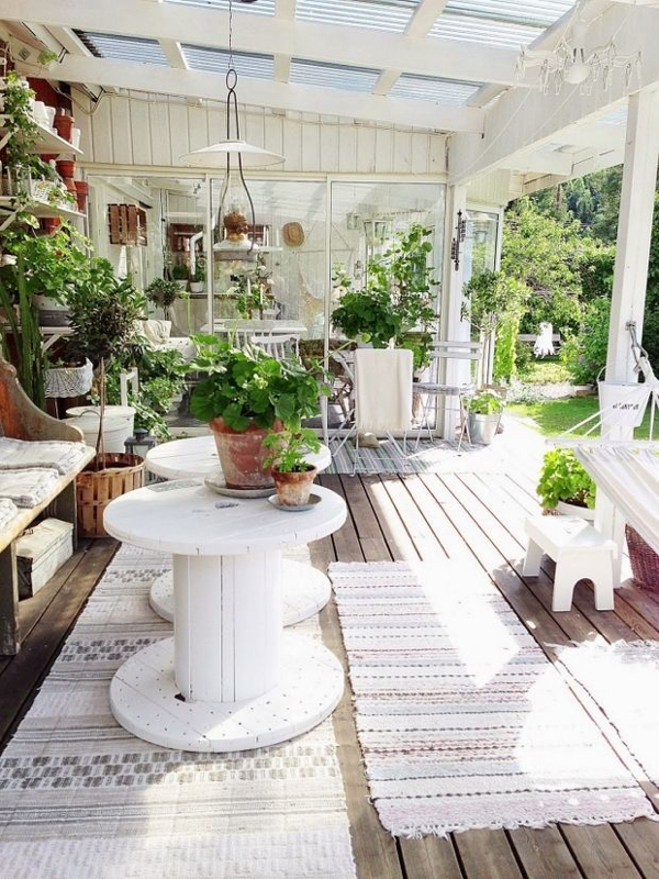 """While some may call these DIY tables, """"spool tables"""" they are not true spool furniture."""