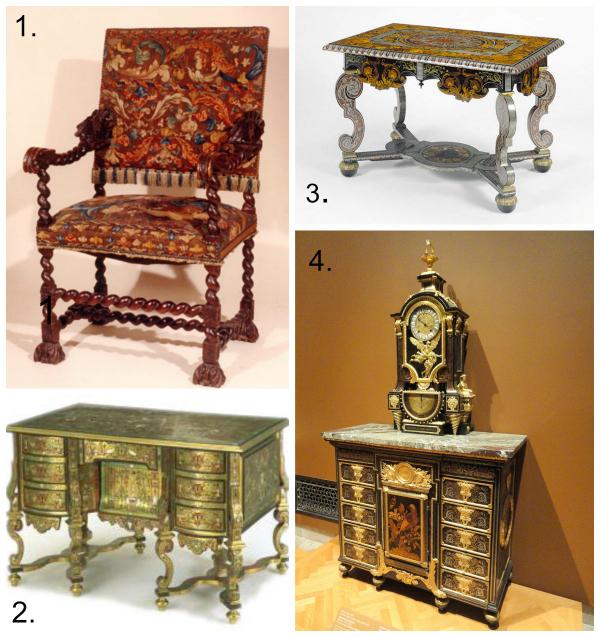 Baroque furniture