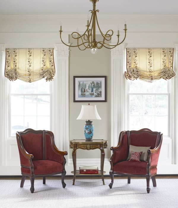 1. What is the proper name for the two chairs in this room I designed?