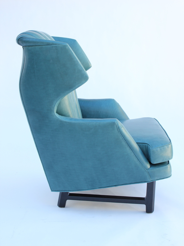 This Wormley chair has a strong Scandinavian influence.