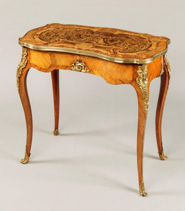 Louis XV transitional form table