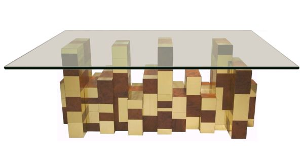 Paul Evans coffee table from the Cityscape collection for Directional.