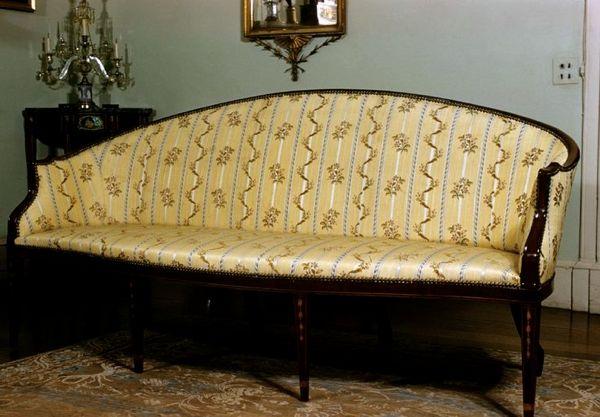 Cabriole Sofa. c. 1800