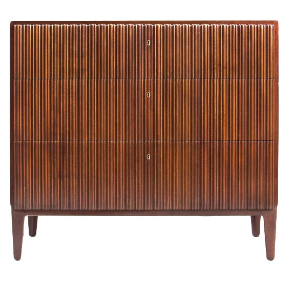 Swedish Model 31:AN Mahogany Commode by Axel Einar Hjorth, Sweden Circa 1931