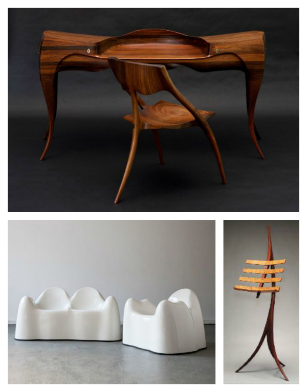 Furniture by Wendell Castle