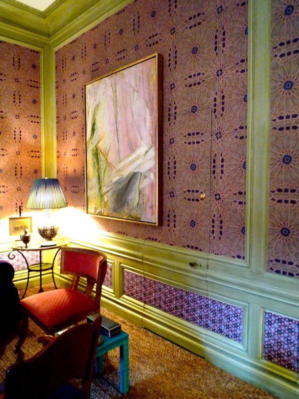 Alexa Hampton's room at the 2014 Kips Bay Show House.