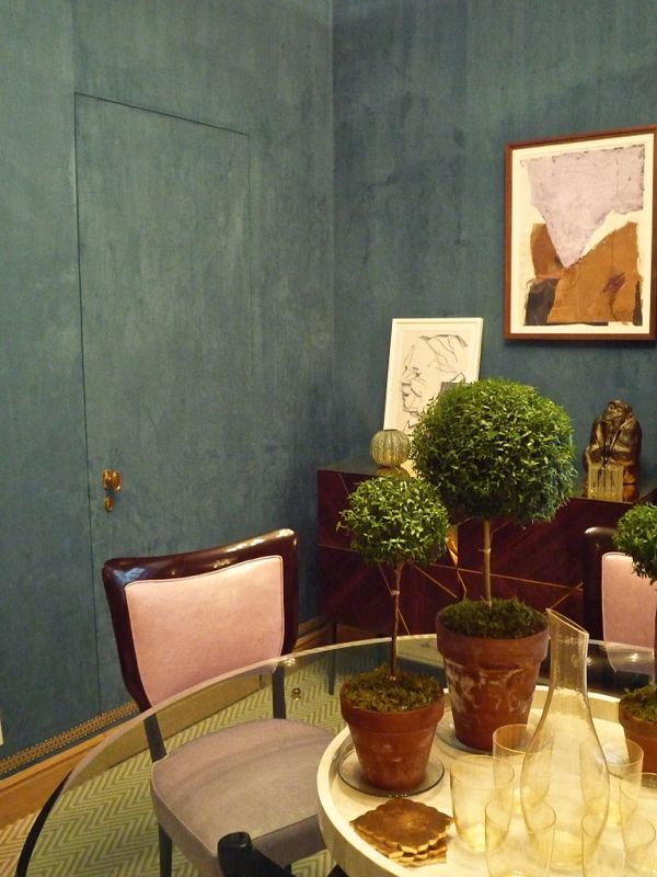 Disguised with paint. Gideon Mendelson–2014 Kips Bay Showhouse