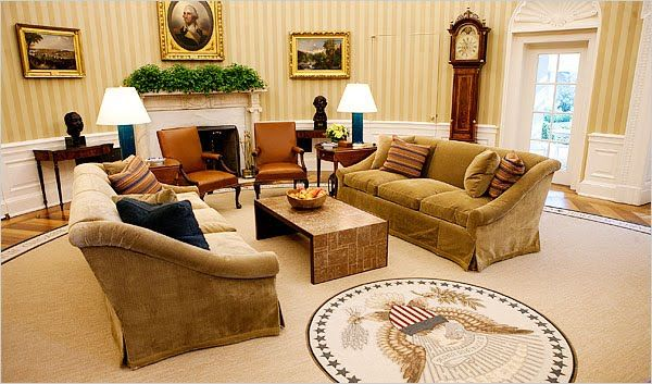 Oval Office by Michael Smith