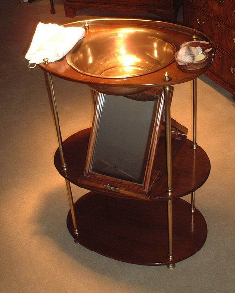 Collapsible washstand c. 1830