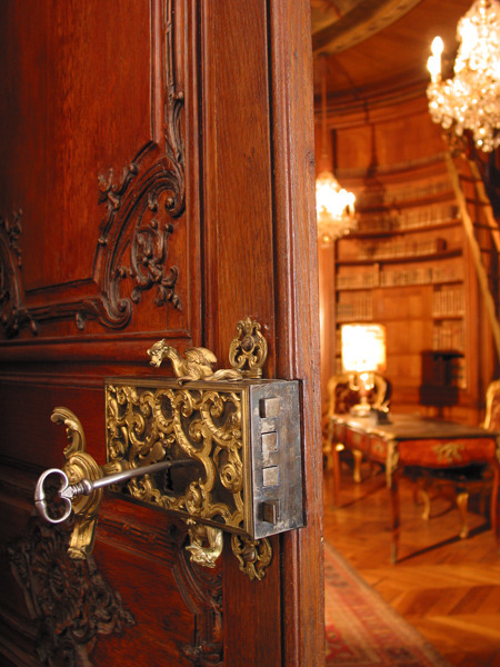 Rococo style hardware