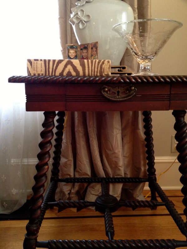 My Victorian table.