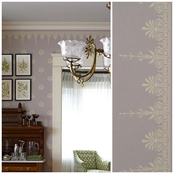 Neoclassical period wallpaper