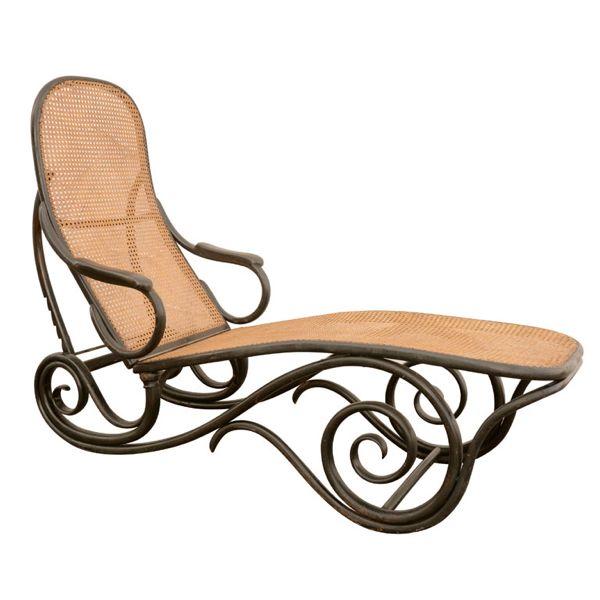 Thonet Ebonised Chaise Model #2, 1888