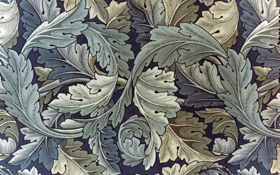 Wallpaper by William Morris, c.1875