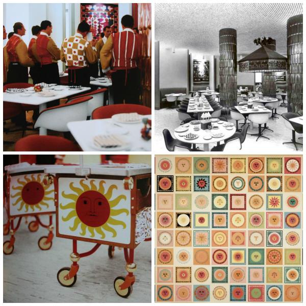 girard restaurant collage