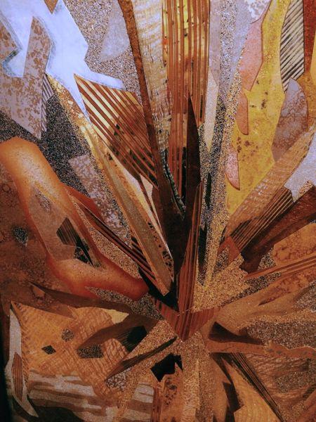Detail from Fata Morgana, 2014 by Miriam Ellner
