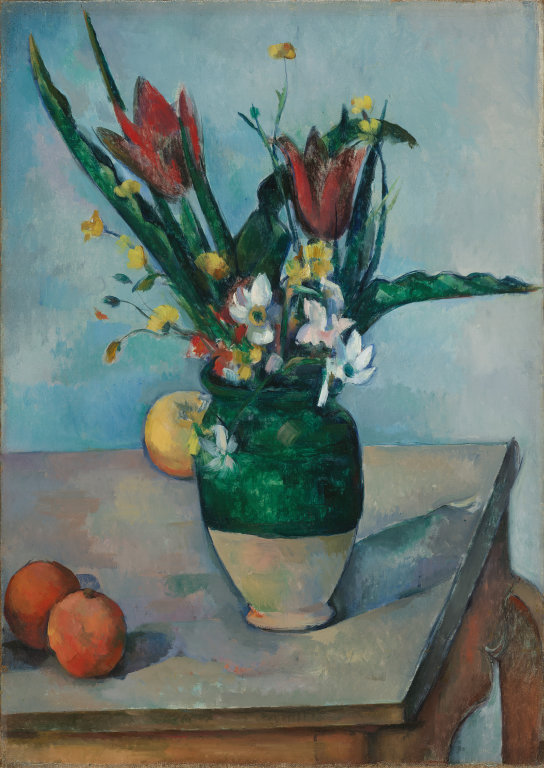 """Vase with Tulip"" Paul Cezanne"