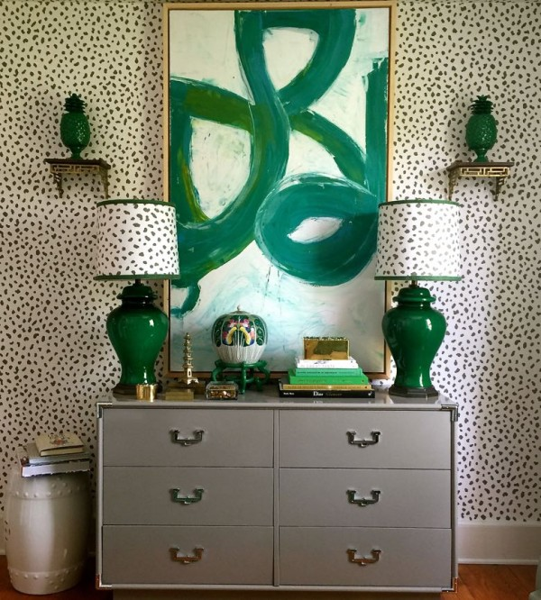 Interior design by Parker Kennedy Living for the Junior League of High Point Show House