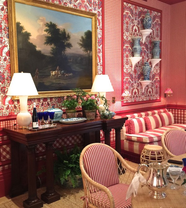 Interior design by Mark Sikes for the 2015 Kips Bay Show House