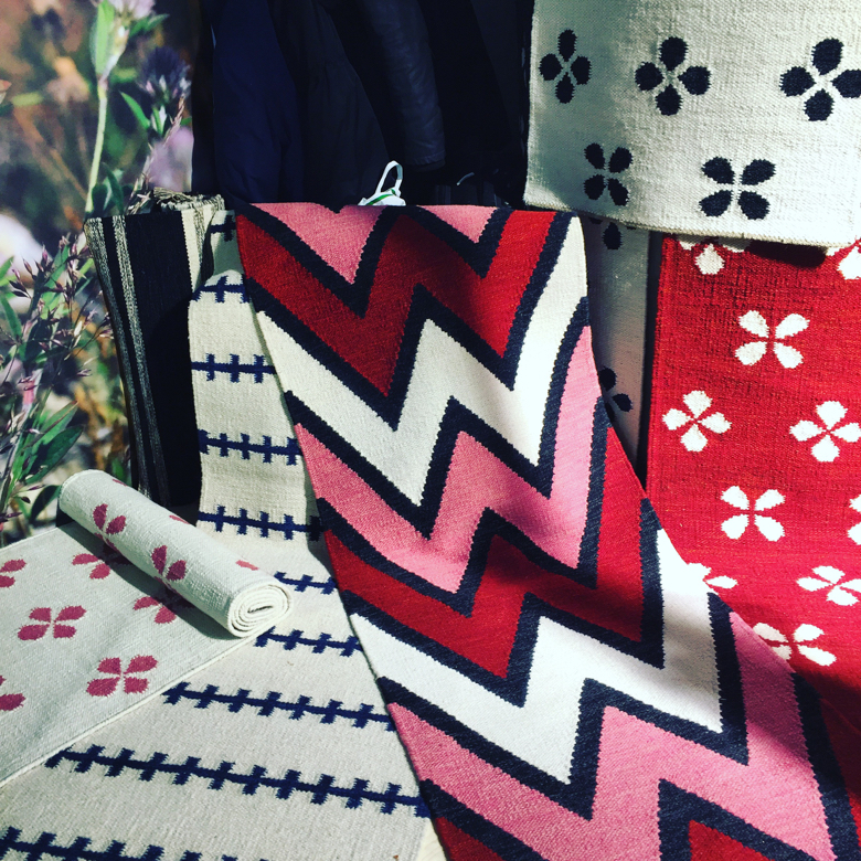 Rugs by Born in Sweden, shown at Ambiente
