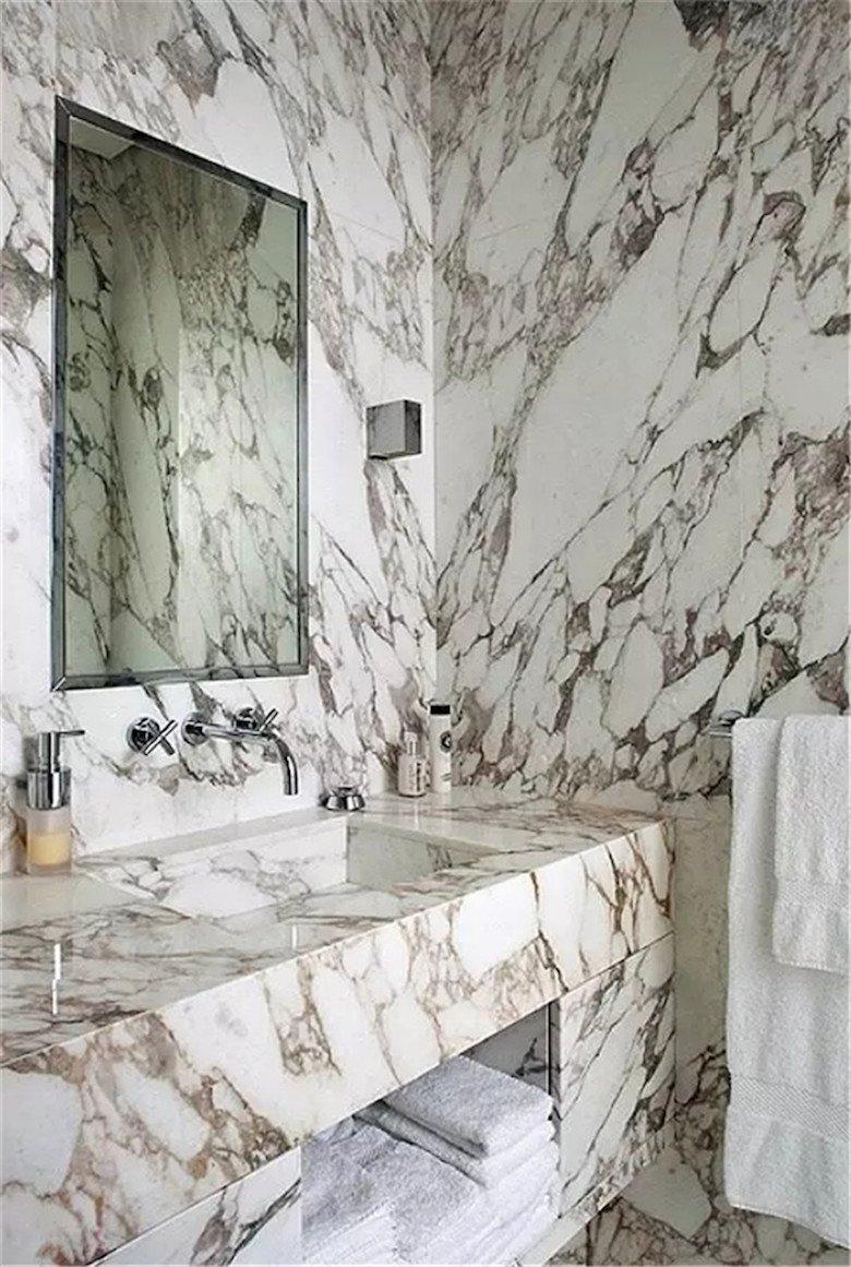 Mable Slab bathroom