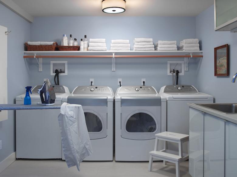 Montauk Laundry room