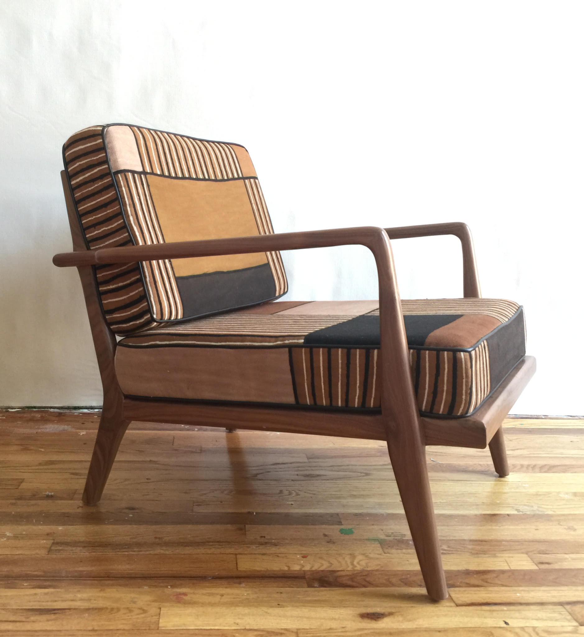 Smilow Furniture Collaborates With Rubia Ndomo On Mud Cloth