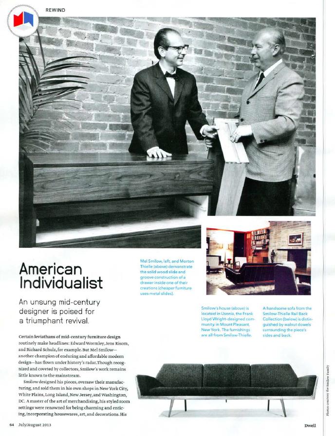 Dwell Magazine July 2013 American Indiv