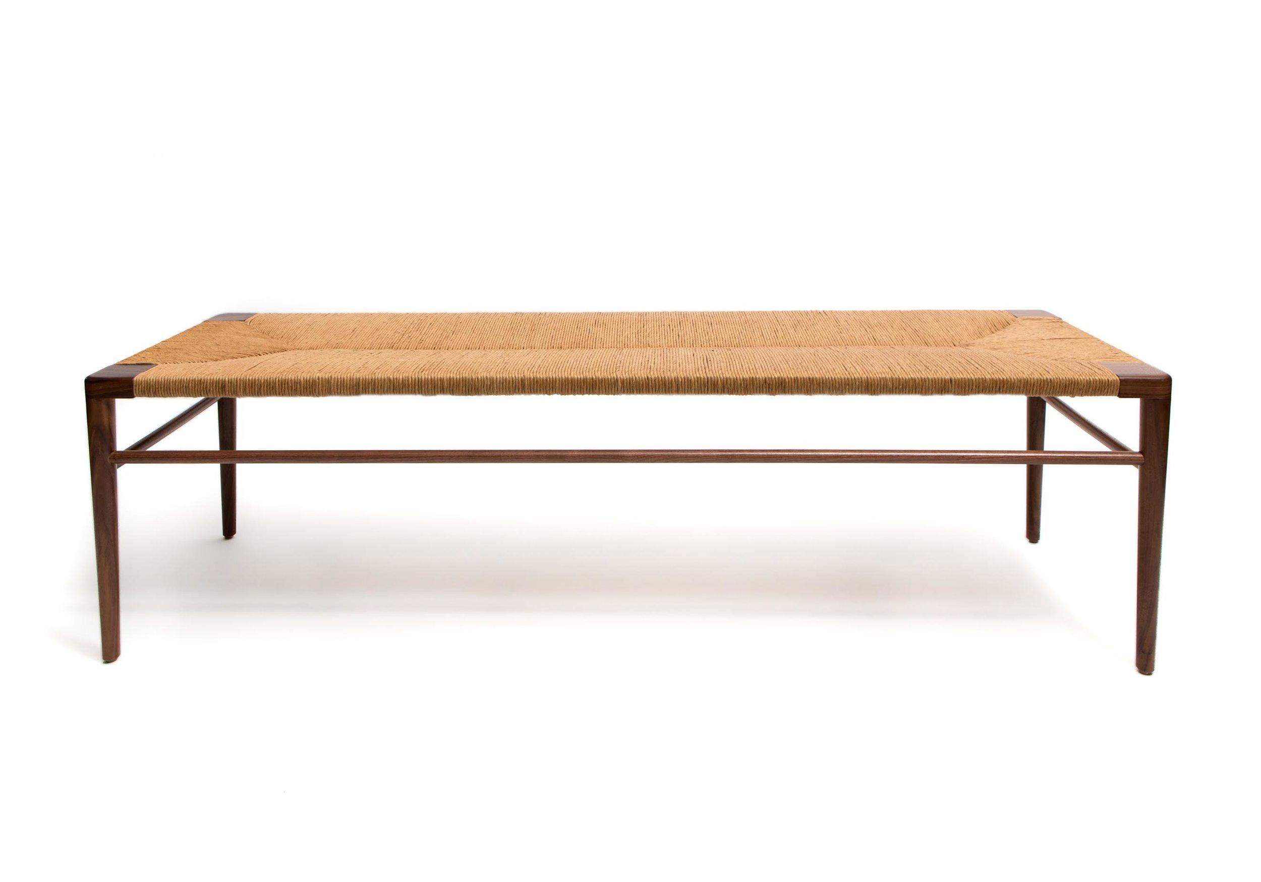 smilow furniture woven rush bench most shopped item