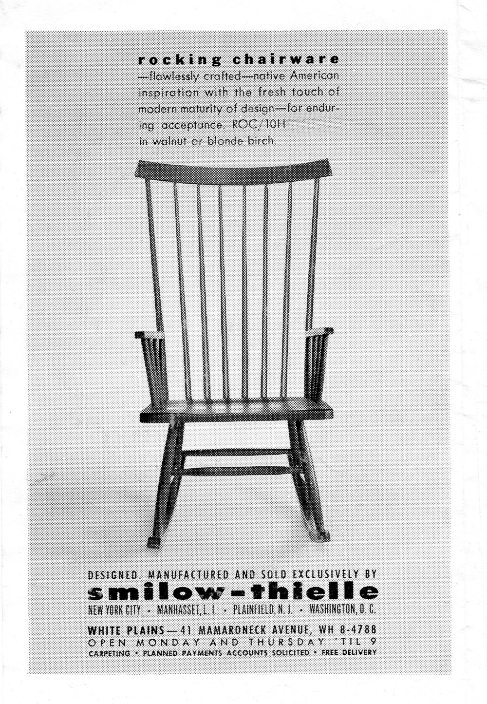 mel smilow Rocking Chair Vintage Advertisement.jpg