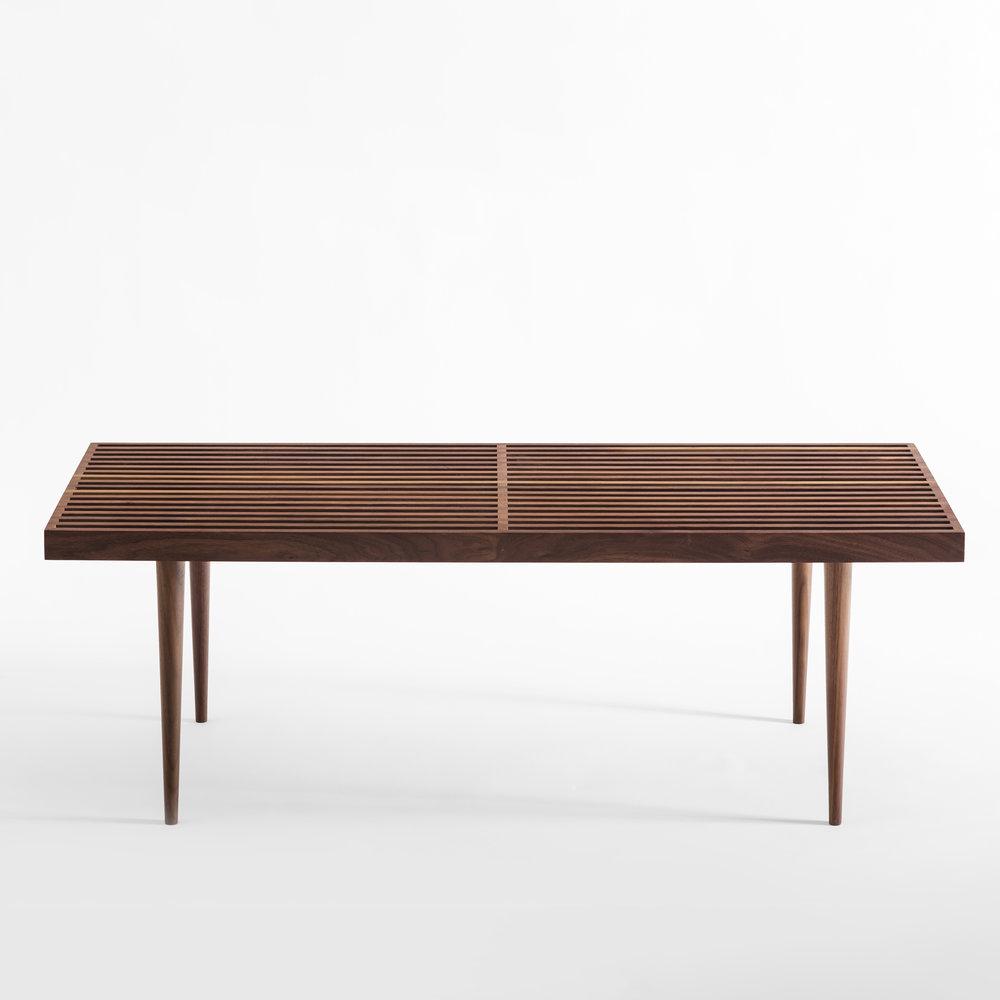 Picture of: Slatted Bench Sb 44 Sb 60 Smilow Design