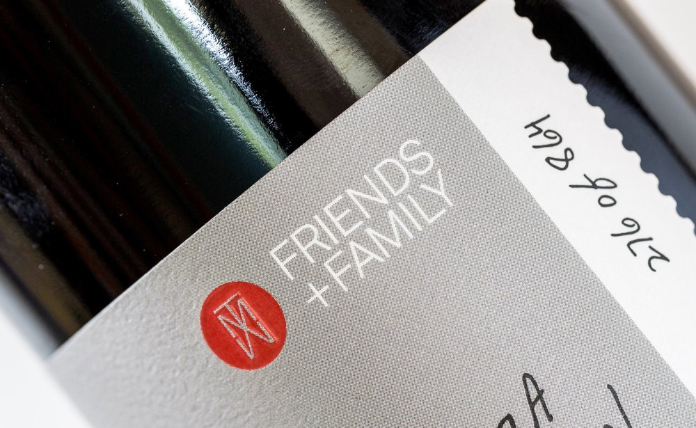 "Enjoy ""Friends and Family"" member exclusive wines."