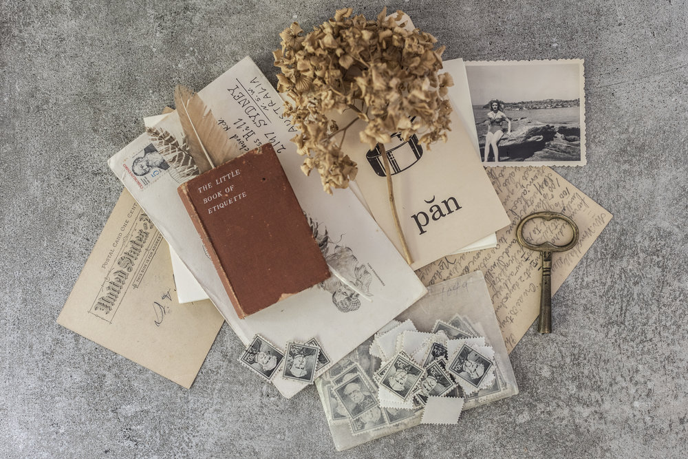 a collectors compendium - Bring your paper treasures (tickets, letters photographs, stamps etc) and make a stunning pocket accordion book in beautiful archival paper - perfect as a display or as a safe heirloom keepsake to tuck away.Sunday 23 June 2019. The Lost and Found Dept, Hunters Hill.