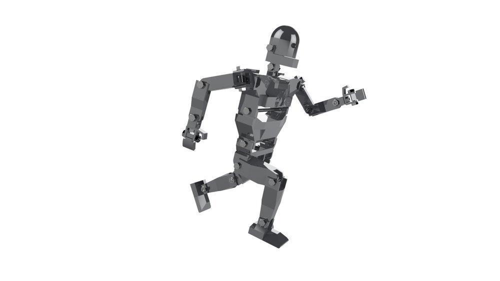 FLEXBOT's joints are designed to be able to mimic nearly any human motion.